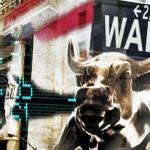 Foto av Wall Street oksen ifbm Pensum sitt markedssyn.